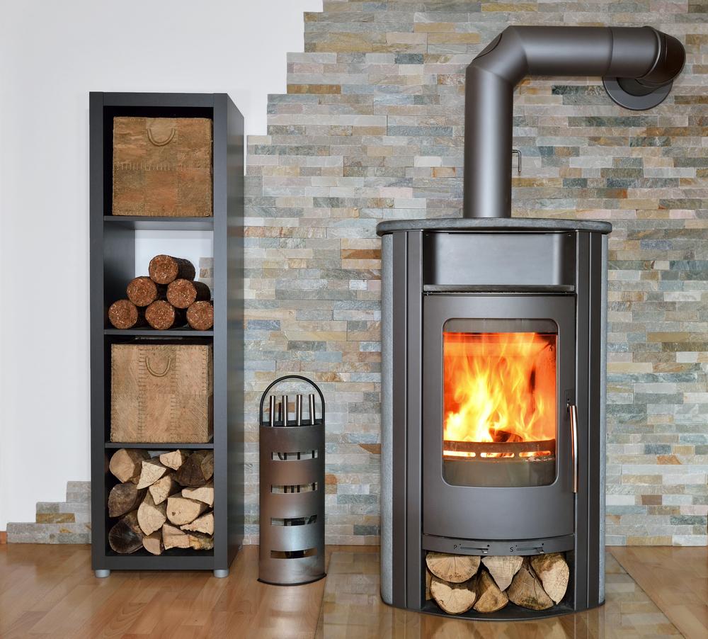 modern woodburner